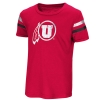 Image for Red Zone Girls Athletic Logo Varsity Toddler Tee