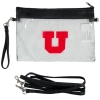 Image for Utah Utes Block U Clear Convertible Clutch