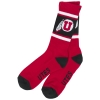 Image for 47 Brand White Stripe Athletic Logo Socks