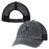 Image for Top of the World Athletic Logo Black and Gray Adjustable Hat