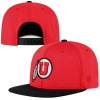 Image for Utah Utes Athletic Logo Red and Black Snapback