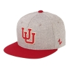 Image for Utah Utes Interlocking U Flat Brim Youth Hat