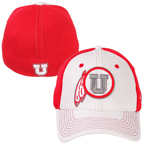 Image For Athletic Logo White Front Fitted Hat