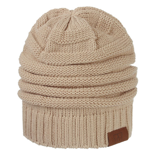 Image For Utah Utes Cream Slouchy Beanie c319479334a