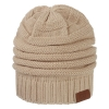 Image for Utah Utes Cream Slouchy Beanie