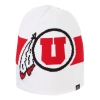 Image for Utah Utes Athletic Logo Block U Reversible Beanie