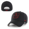 Image for 47 Brand Block U Red Outline Adjustable Hat