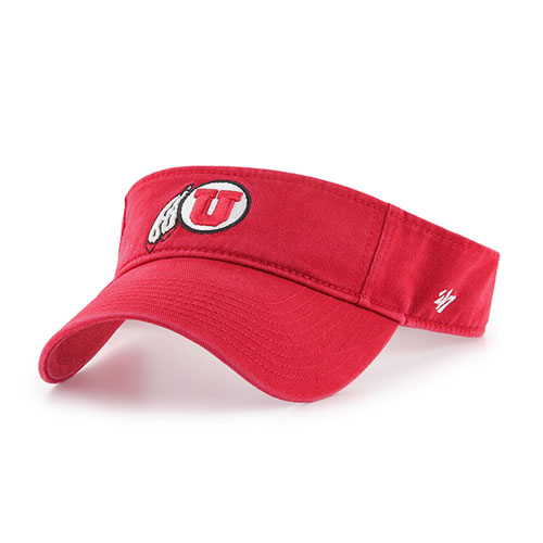 Cover Image For 47 Brand Athletic Logo Red Visor