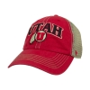Image for Utah Utes Athletic Logo Mesh Adjustable Hat