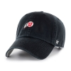 Image for 47 Brand Adjustable Mini Athletic Logo Black Hat