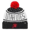 Image for Utah Utes Athletic Logo Women's Heart Beanie