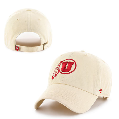 Image For 47 Brand Athletic Logo Cream Adjustable Hat