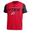 Image for Under Armour Utes Athletic Logo T-Shirt