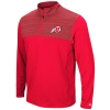 Image for Utes Athletic Logo Colosseum Red Quarter Zip