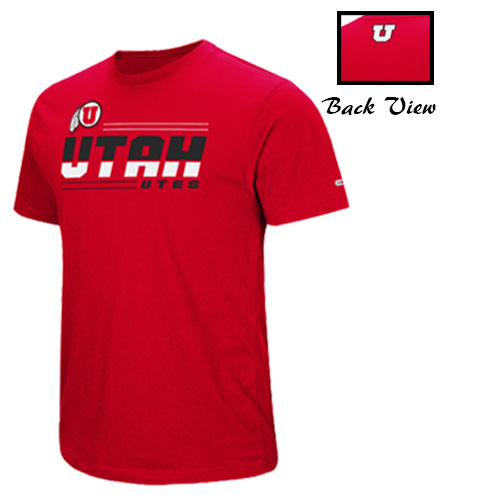 Image For Utah Utes Athletic Logo Colosseum T-shirt