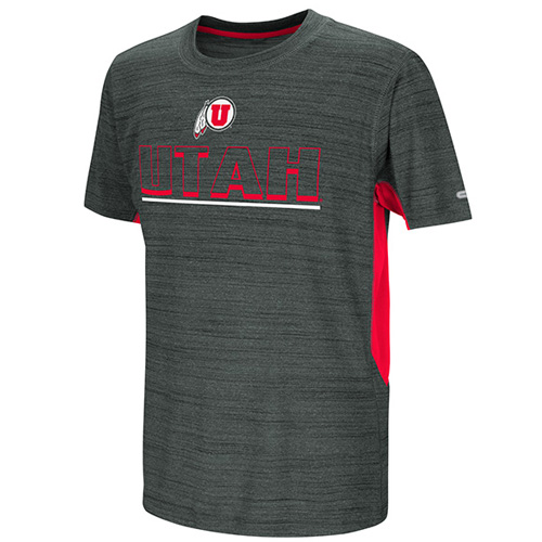 Image For Colosseum Athletic Logo Utah Youth Tee