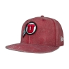 Image for Athletic Logo Washed Red Snapback