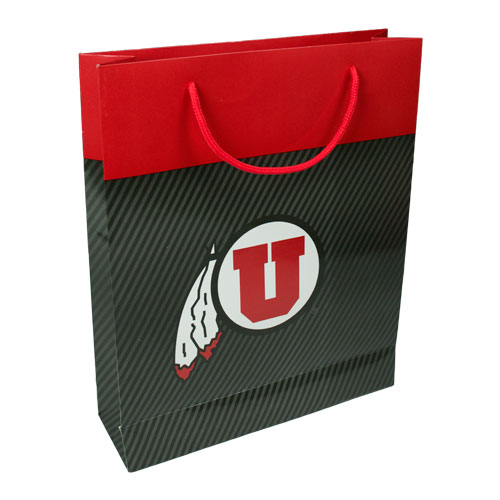 Image For University of Utah Athletic Logo Gift Bag