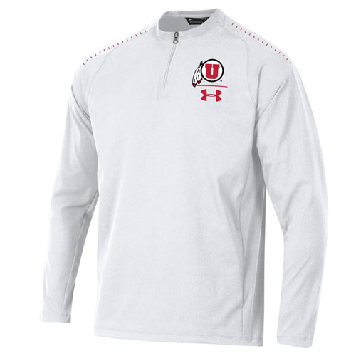 Cover Image For Utah Utes Under Armour Cage Jacket