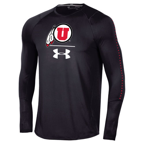 Cover Image For Under Armour Athletic Logo Long Sleeve Training Tee