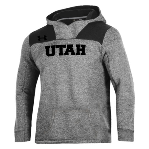 Cover Image For Under Armour Embroidered Utah Youth Hoodie
