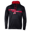 Image for Under Armour Athletic Logo Utah Utes Hooded Sweatshirt