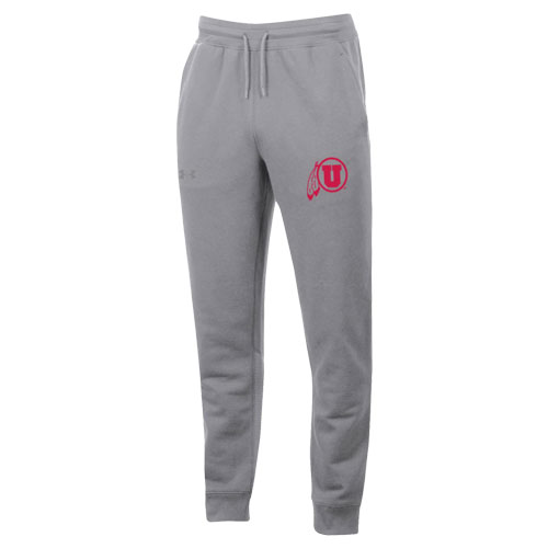 Image For Under Armour Athletic Logo Ribbed Accent Joggers