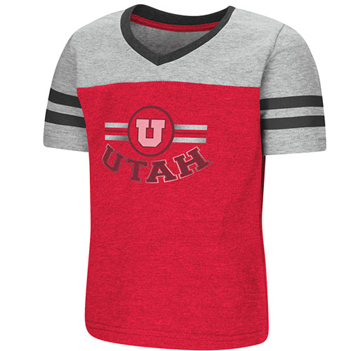 Image For Colosseum Utah Utes Toddler Varsity Tee