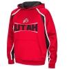 Image for Colosseum Utah Utes Athletic Logo Black Accent Hoodie