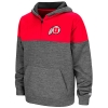 Image for Colosseum Utah Utes Youth Hooded Quarter-Zip