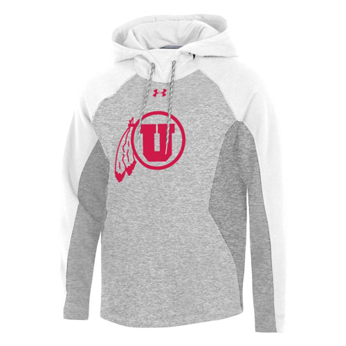 Image For Utah Utes Under Armour Ribbed Accent Sweatshirt