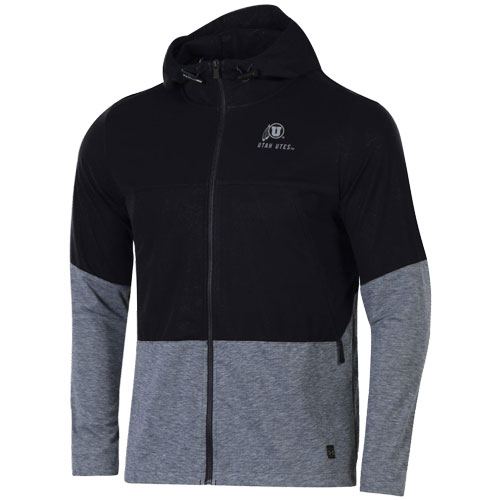 Image For Utah Utes Under Armour Hooded Full Zip