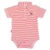 Image for Utah Utes Infant Striped Collared Onesie