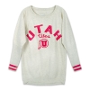 Image for Utah Utes Bedazzled Women's Longline Sweatshirt