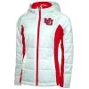 Image for Utah Utes Women's Interlocking U White Puffer Jacket