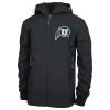 Image for Utah Utes Silver Athletic Logo Softshell Jacket