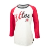 Image for Utah Utes Gradient Script Womens Long Sleeve Tee