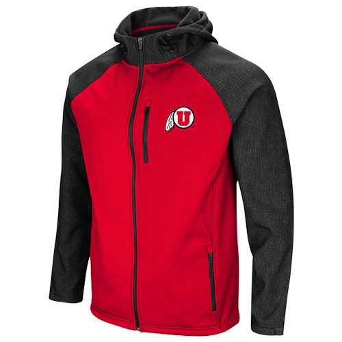 Image For Utah Utes Colosseum Full Zip Jacket