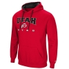 Image for Colosseum Utah Utes Athletic Logo Red Hoodie