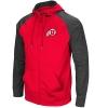 Image for Colosseum Utah Utes Athletic Logo Full-Zip Hooded Sweatshirt