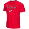 Image for Utah Utes Athletic Logo Red Tackle Tee