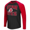Image for Colosseum Utah Utes Athletic Logo Baseball Tee