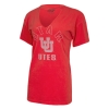 Image for Utah Utes Interlocking U Cutout V-Neck Tee