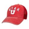Cover Image for Colosseum Utah Utes Athletic Logo Hooded Sweatshirt
