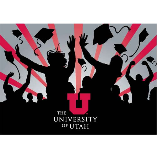 Image For University of Utah GO UTES! Graduation Greeting Card