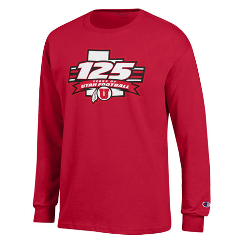 Image For Utah Utes Champion 125 Years Long Sleeve