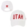 Image for Utah Utes White Adjustable Women's Hat