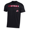 Image for Under Armour Utah Athletic Logo Mens Tee