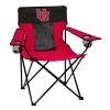 Image for Red n Black Interlocking U Camping Chair