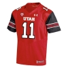 Image for Under Armour Mens 2018 Football Jersey Red